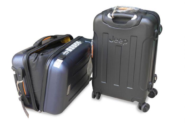 לחץ כאן לרכישת צמד במבצע-לשימוש יחד או לחוד,דגם 500 ל' טריפל+ מזוודת JEEP