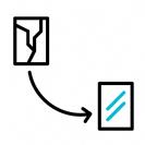 תיקון כפתור בית אייפון SE