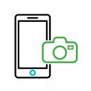 תיקון מצלמה אייפון 8