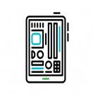 תיקון חיישן גלקסי Note 4 Edge