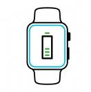 תיקון סוללה לשעון אפל Series 2