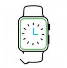 תיקון רצועה לשעון אפל Series 1