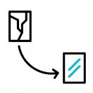 החלפת גב לטאבלט גלקסי Tab S4