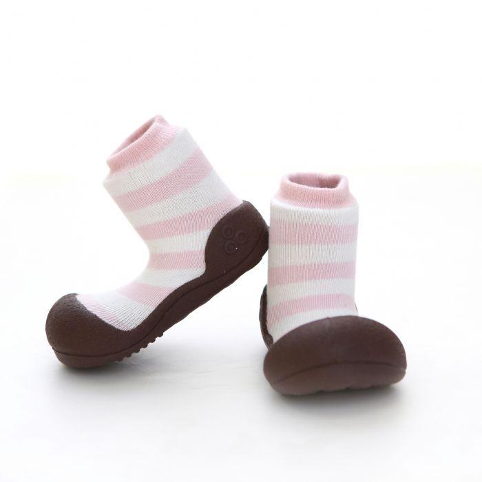 נעלי ATTIPAS צבעים טבעיים ורוד  AN05