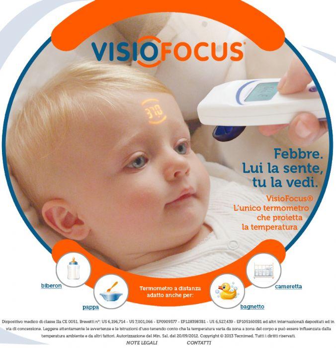 מד חום ללא מגע  Visio focus