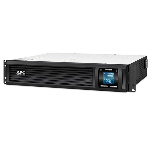 אל פסק APC Smart-UPS C 1500VA LCD RM 2U 230V SMC1500I-2U