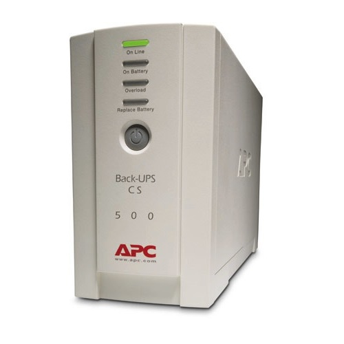 אל פסק APC Back-UPS 500, 230V