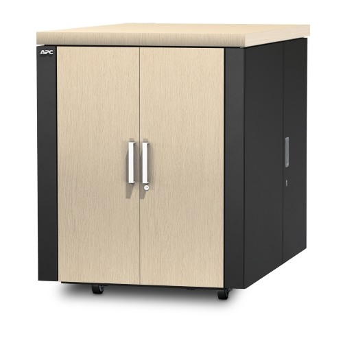 ארון תקשורת NetShelter CX 18U Secure Soundproof Server Room in a Box Enclosure International AR4018IA