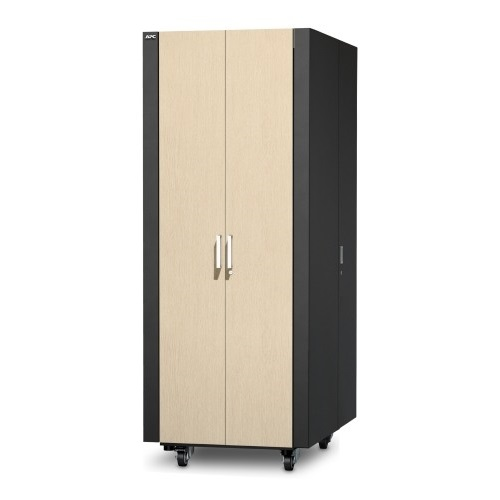 ארון תקשורת NetShelter CX 38U Secure Soundproof Server Room in a Box Enclosure International AR4038IA