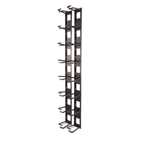 תעלה ורטיקלית לארון תקשורת Vertical Cable Organizer, 8 Cable Rings, Zero U AR8442