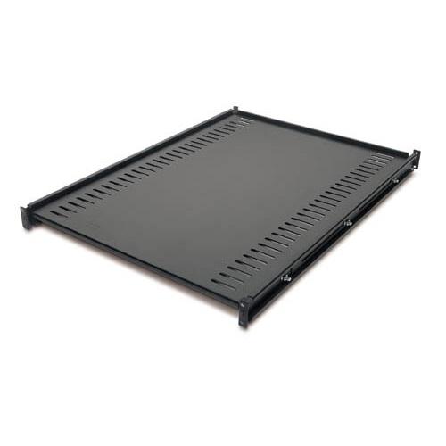 מדף לארון תקשורת Fixed Shelf 250lbs/114kg Black AR8122BLK