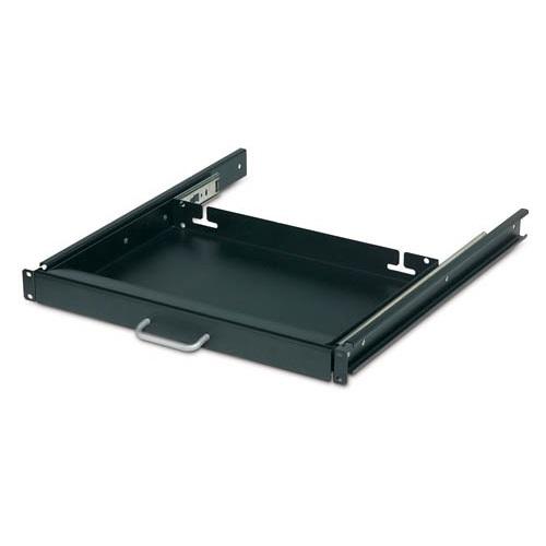 """מדף לארון תקשורת APC 17"""" Keyboard Drawer Black AR8126ABLK"""