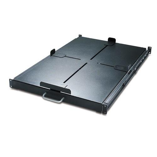 מדף לארון תקשורת Sliding Shelf 200lbs/91kg Black AR8128BLK