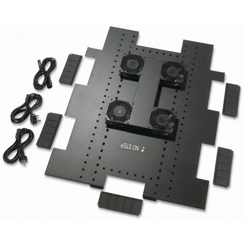 מאוורר לארון תקשורת Roof Fan Tray 208/230VAC 50/60HZ for NetShelter SX 750mm Wide x 1070mm Deep Enclosures ACF504