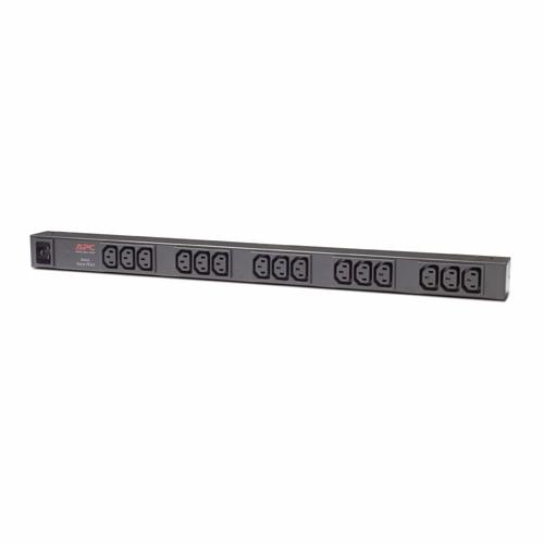 פס שקעים Rack PDU, Basic, Zero U, 16A, 208/230V, (15) C13 AP9572