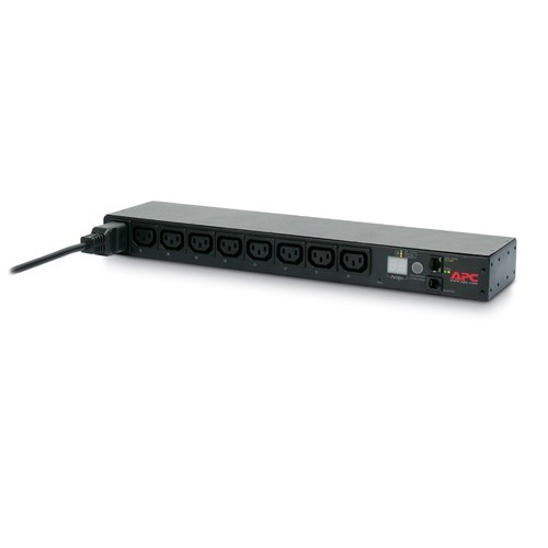 פס שקעים Rack PDU, Switched, 1U, 16A, 208/230V, (8)C13 AP7921B