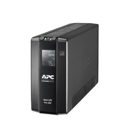 אל פסק Back UPS Pro BR 650VA, 6 Outlets, AVR, LCD Interface BR650MI