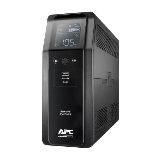 אל פסק Back UPS Pro BR 1200VA, Sinewave,8 Outlets, AVR, LCD interface BR1200SI