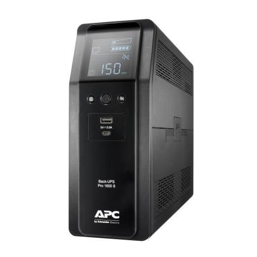 אל פסק Back UPS Pro BR 1600VA, Sinewave,8 Outlets, AVR, LCD interface BR1600SI