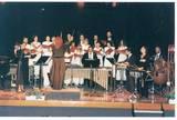 אנסמבל באולם שרת מאירועי א. הופמן שירותי הגברה ותאורה בבעלותו של אהרון הופמן