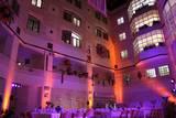 עיצוב תאורה לאירוע פרידה מסגן מנהל בית החולים שניידר מעצבים: אהרון הופמן ויאן רצבי