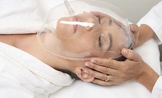 טיפול באמצעות מכשיר חמצן