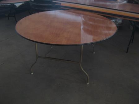 """שולחן עגול קוטר 120 ס""""מ Round table 120 cm"""