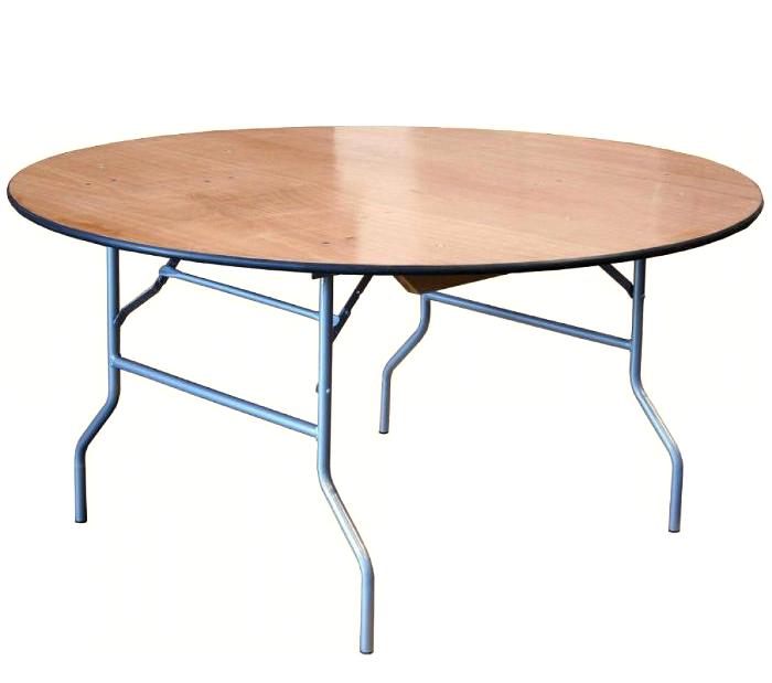 """שולחן אירועים עגול 183 ס""""מ"""