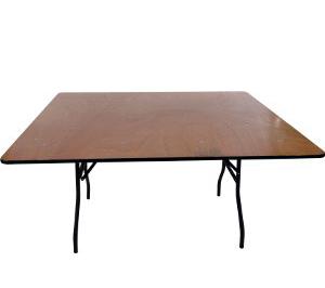 """שולחן אירועים מרובע 153 ס""""מ"""