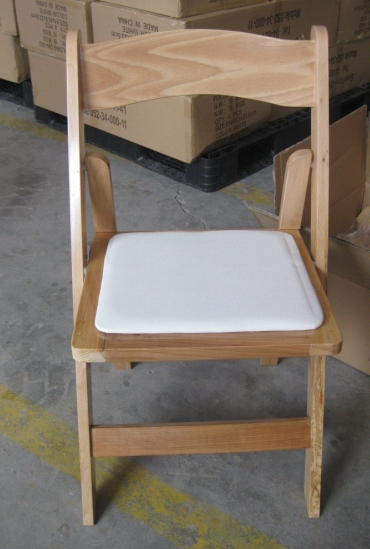 כיסא עץ מתקפל טבעי-Natural folding chair
