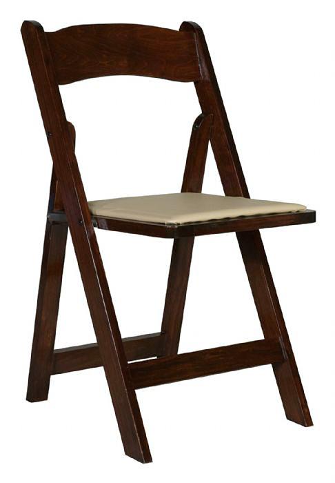 כסא עץ מתקפל דובדבן