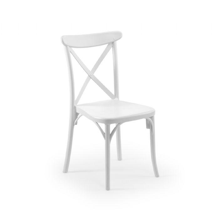 כיסא איקס לבן