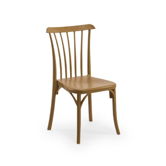 כיסא פסים דגם עץ
