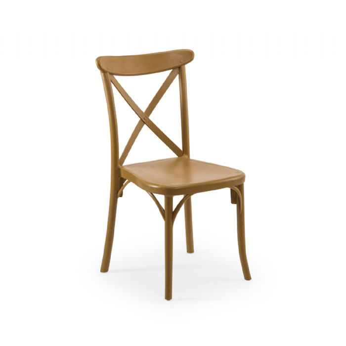 כיסא איקס גוון עץ