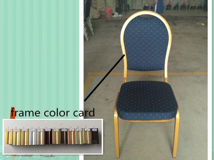 כיסא מופעים כחול