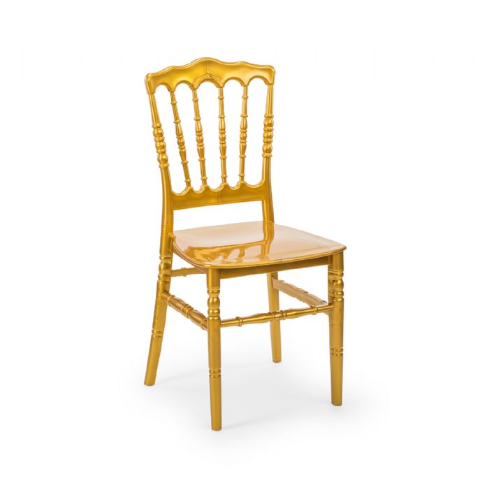 כיסא נפוליאון זהב
