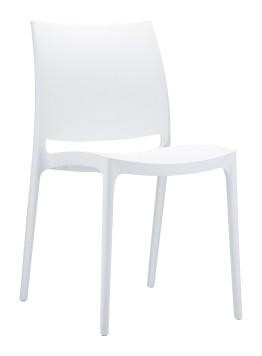 כיסא אליה לבן