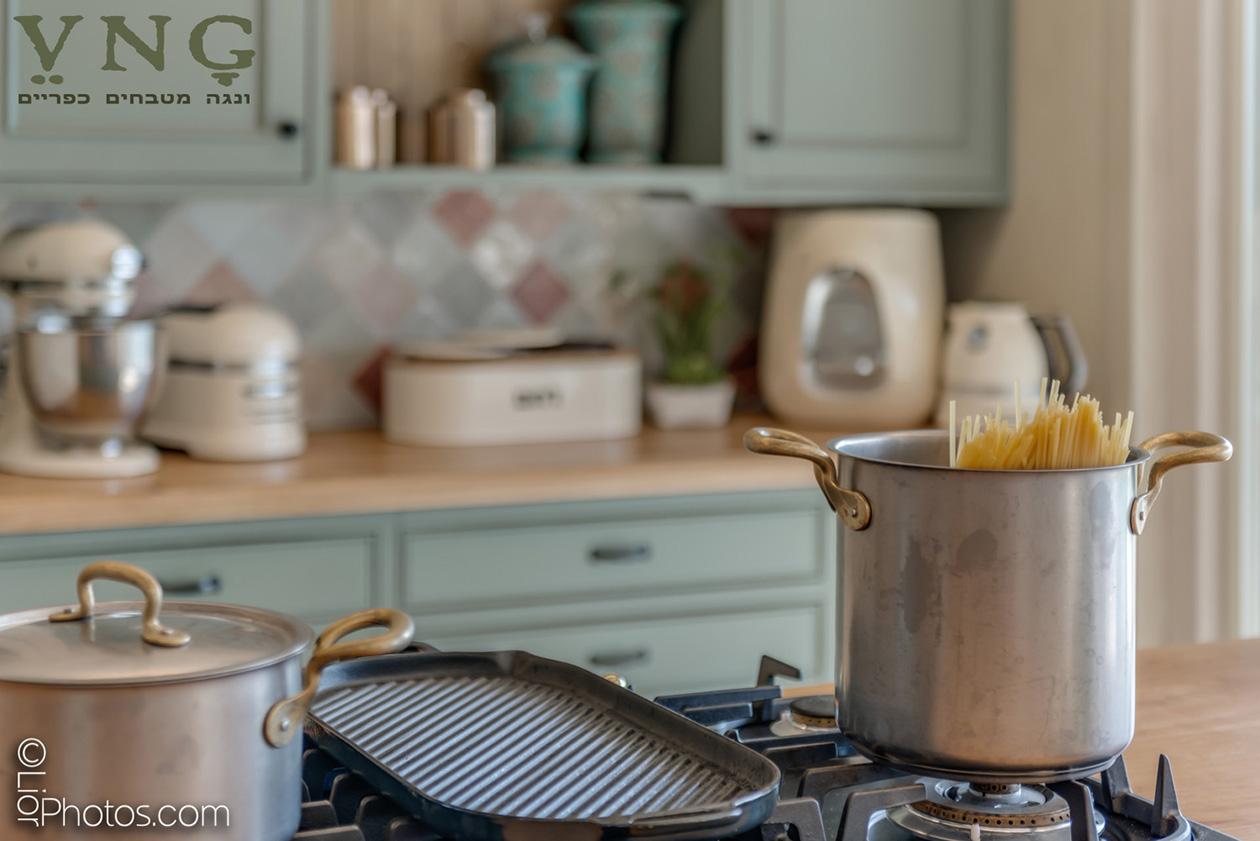 מטבח בסגנון כפרי