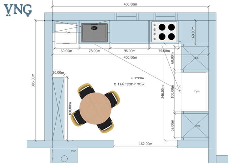 תכנון ועיצוב מטבח