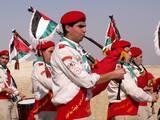תהלוכת הצופים מנגנת כל הדרך לירדן