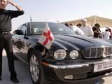 רכב הפטריארך עם דגל הפטריארכיה