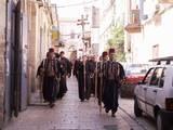 סיורים - הקוואסים צועדים בראש, תהלוכות בעיר העתיקה ביום א´ של כפות התמרים