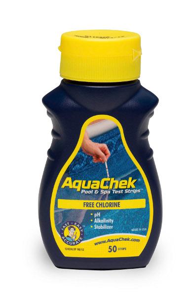 מדידה ידנית לאיזון המים Aquacheck