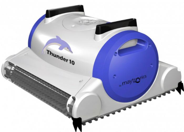 רובוט לבריכה - דולפין Thunder 10