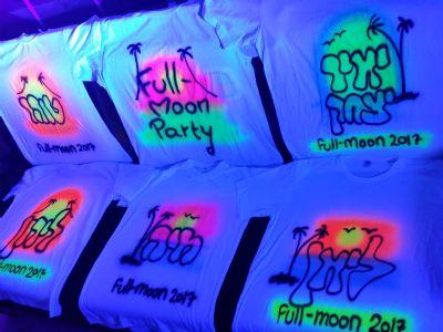 חולצות גרפיטי למסיבת פול מון, חולמות זוהרות למסיבה