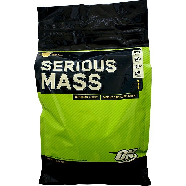 Serious Mass Optimum Nutrition  קילו 5.5