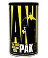 Animal Pak -אנימל פאק לשיפור ביצועים ספורטיביים של חברת UNIVERSAL  תכולה- 44 שקיות