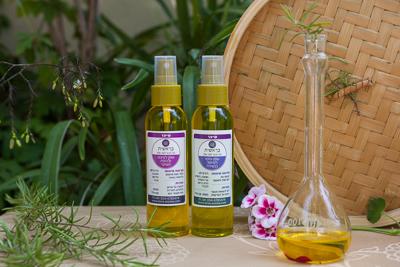 שמן עיסוי לטיפול בנשירה - מעודד צמיחת שיער