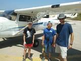 טיסה במטוס ססנה