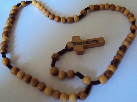 Holy Land Rosary Hand Threaded